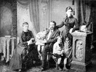 Die familie florenski 2 v r pawel florenski um 1888